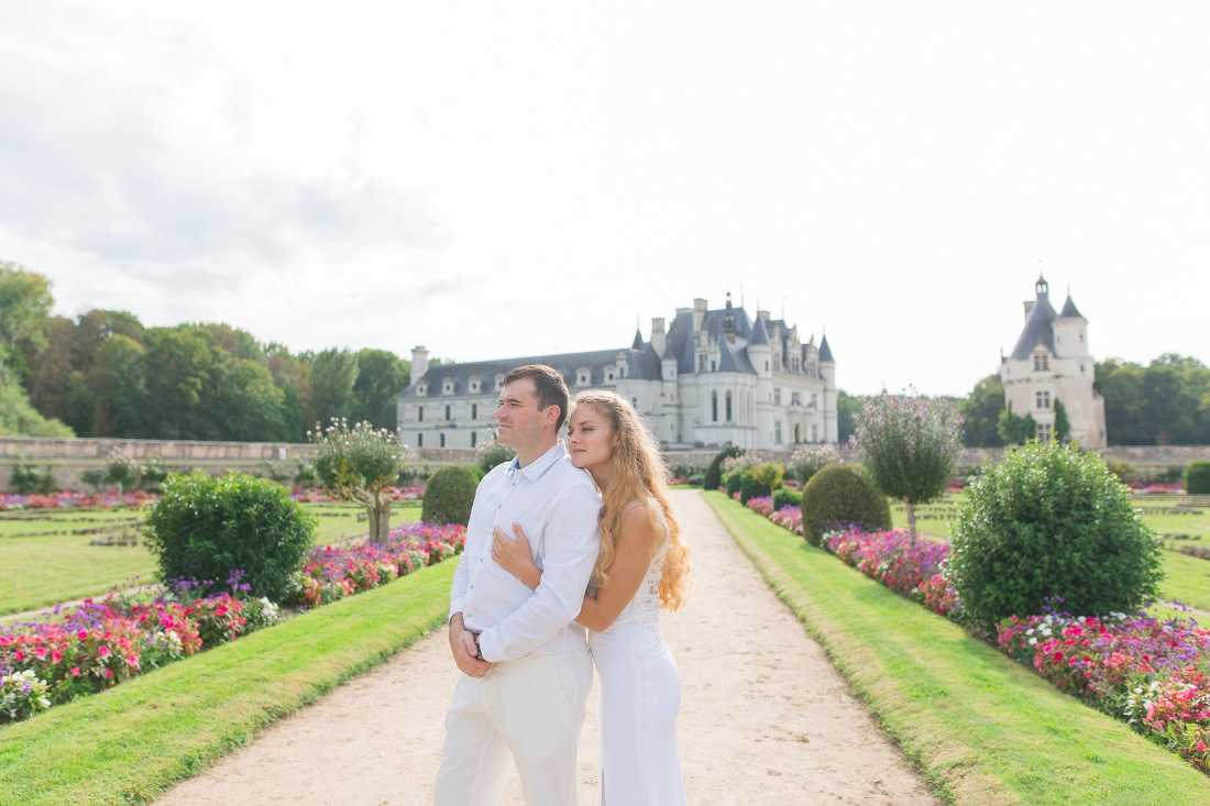 After wedding in Loire Valley - Chateau de Chenonceau - Loire Valley Photographer
